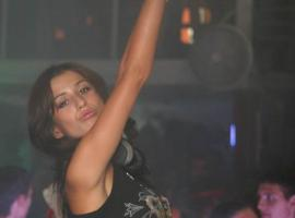 Female DJ in Odessa night club