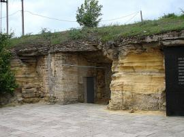 Entrance to the catacombs in Odessa
