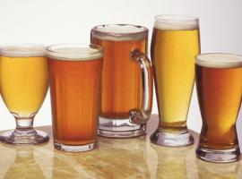 Five beers included in the pub crawl